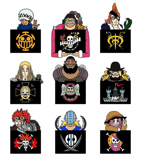 ONE PIECE, Flag Of 11 Supernova, Flag Of The Rookie
