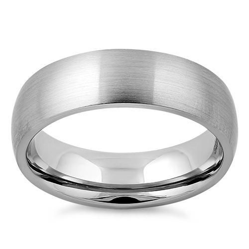 Stainless Steel Rings Classic Alliance Wedding Rings For Women Men Black Silver Color Rings Steel Wedding Ring Stainless Steel Wedding Bands Black Rings