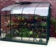 Halls Silverline Greenhouse Lean to Special Offer £699.00 - Greenhouse - Aluminium - Lean To Best Price Greenhouses Online | Buy Discount Greenhouses