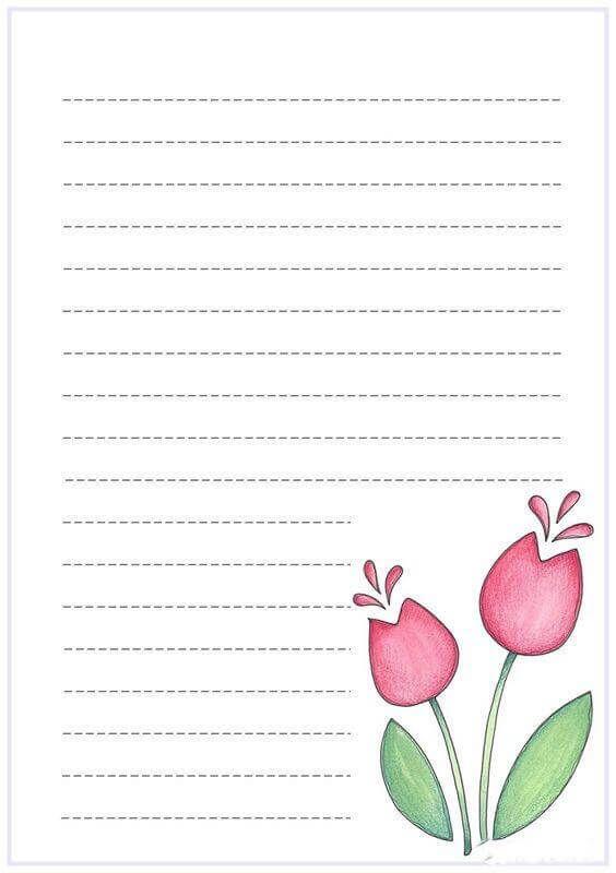 أفكار تزيين دفتر التحضير من الداخل تزيين كشكول التحضير بالفوم بالعربي نتعلم Membretes Para Cuadernos Decorar Hojas De Cuaderno Hojas De Notas