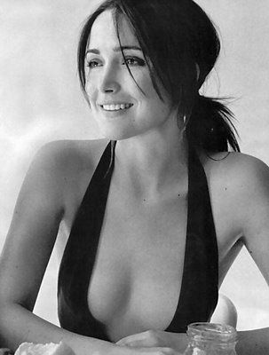 Rose Byrne in a stunning one-piece swimsuit
