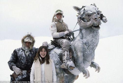 Fotos inéditas y detrás de escena de la película The Empire Strik... | Chilango.com