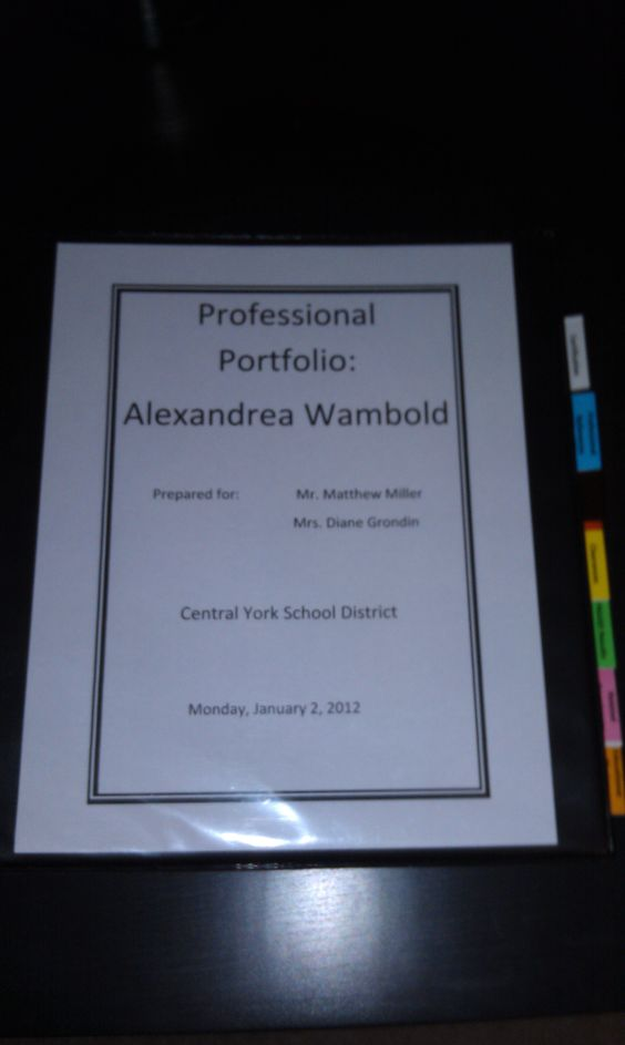 physical education resume%0A Teaching Resume Teacher Resume Examples Teaching Education Introductory  Pamphlet Abbey Fosters Teaching Portfolio