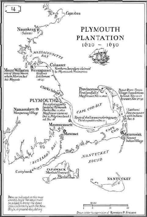 Map of Plymouth Plantation ... Plymouth Mass... | Wicked Awesome ...