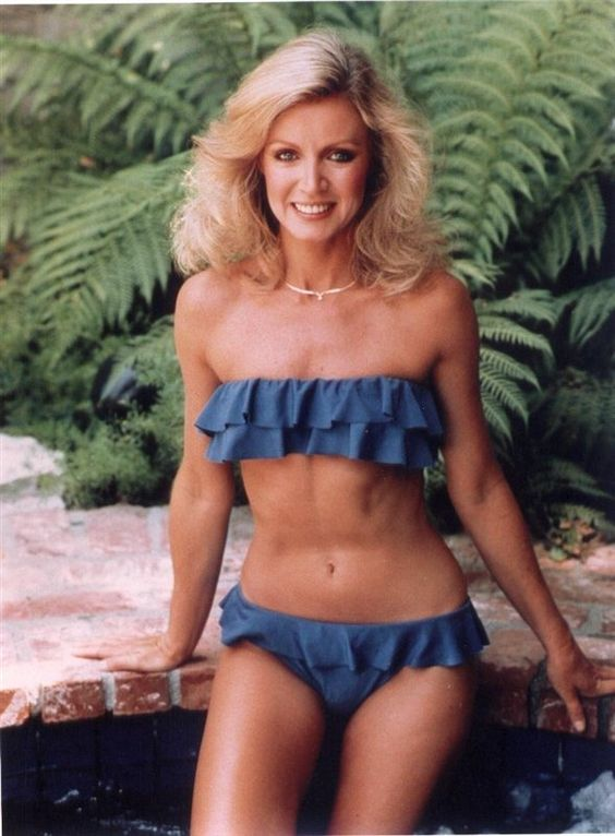 Donna Mills - i like the bathing suit. P.s. this old lady ...