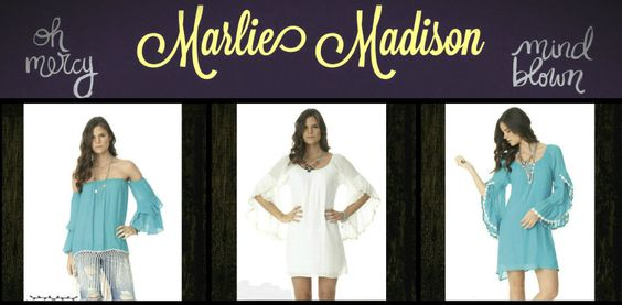 Kelly Top in Turquoise and White http://www.marliemadison.com/tops/kelly-top-in-turquoise