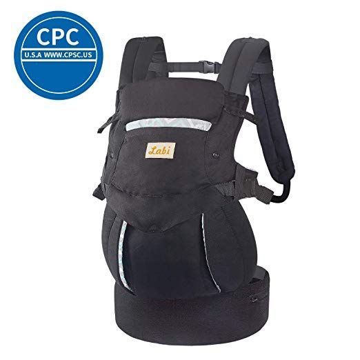 Labi Premium Cotton Baby Carrier With Adjustable Bucket Seat