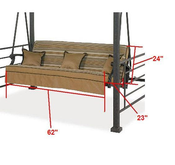 Replacement Cushions Swings And Cushions On Pinterest
