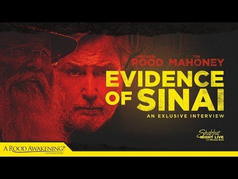 Evidence Of Sinai An Exclusive Interview With Tim Mahoney