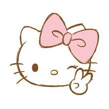 Hello Kitty Pink Emoji – LINE Emoji | LINE STORE in 2020