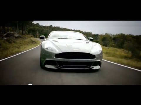 The Aston Martin Vanquish in Motion