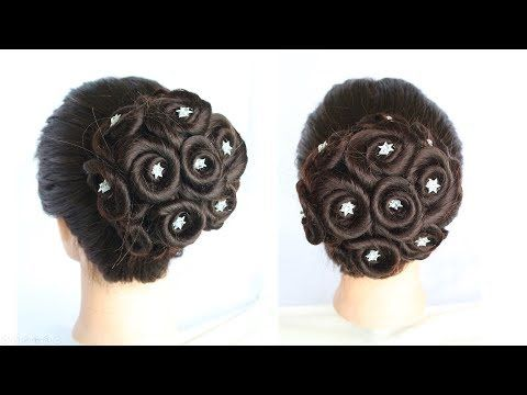 Juda Hairstyle For Wedding How To Do A Perfect Bridal Bun Step By Step Hairstyle For Party Youtube Easy Hairstyles Bridal Hair Buns Diy Hairstyles