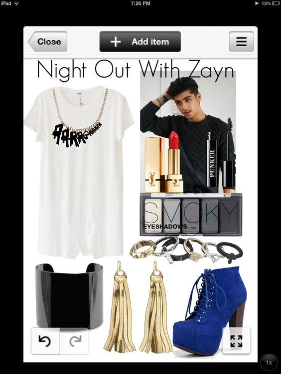 Night Out With Zayn - By Valerie