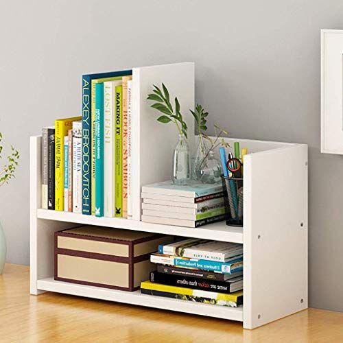 Ychoice Bookshelf Desktop Storage Desk Shelf Student Small Bookcase Floor Shelf Color A Foldable Laund Desktop Bookshelf Small Bookcase Desktop Storage