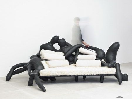 This Body Sofa Was Created By Atelier Van Lieshout Which Was
