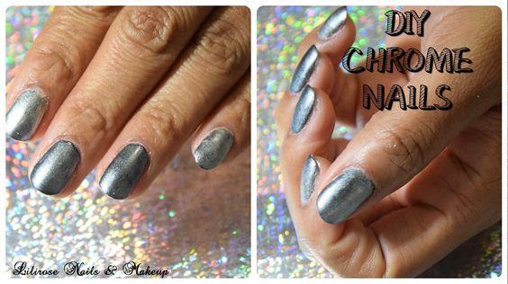 DIY : Chrome Nails