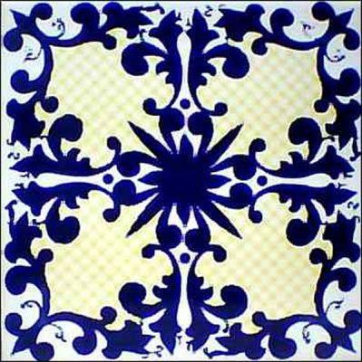 Reposi o dos azulejos azulejos antigos mosaico - Azulejos para mosaicos ...