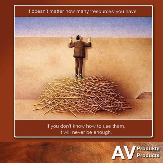 "Your 1 Resource For: ""It Doesn't Matter How Many 'resources' You Have. If You"