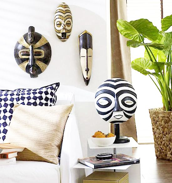 decotherapy-decoracion-etnica-estilo-africano-mascaras