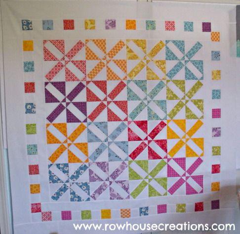 4x4 Modern Fortune Quilt Pattern