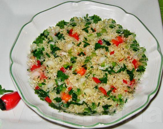 Salada de Quinoa ~ Veganana