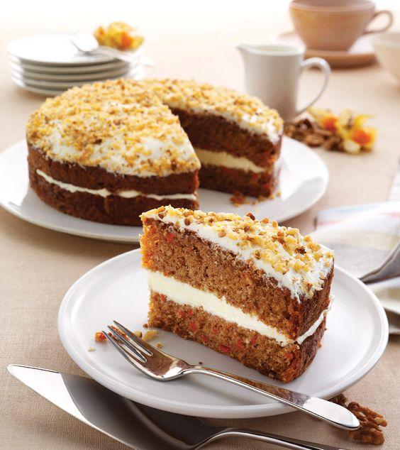 Sidoli Handmade Carrot Cake  Harlech Code: 9127