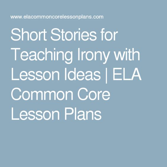 What are some common ideas in short stories?
