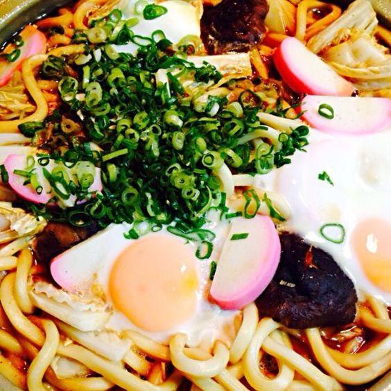 次男がお熱なんで大好きな味噌煮込みうどん♪食べてくれました(^^) - 23件のもぐもぐ - 味噌煮込みうどん by hanohano