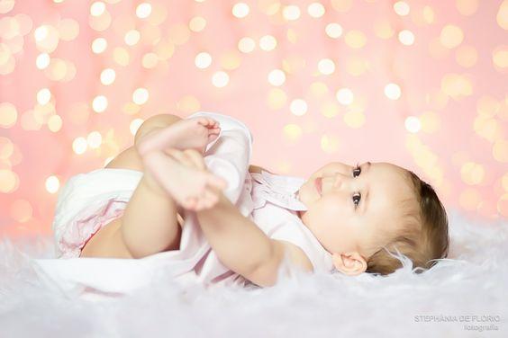Ensaio fotogr fico de beb menina de 6 meses rosa branco linda baby studio photography 5 - Bebe de 6 meses ...