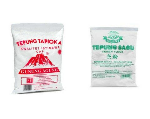 Apa Bedanya Tepung Sagu Vs Tepung Tapioka Dan Kegunaannya Tepung