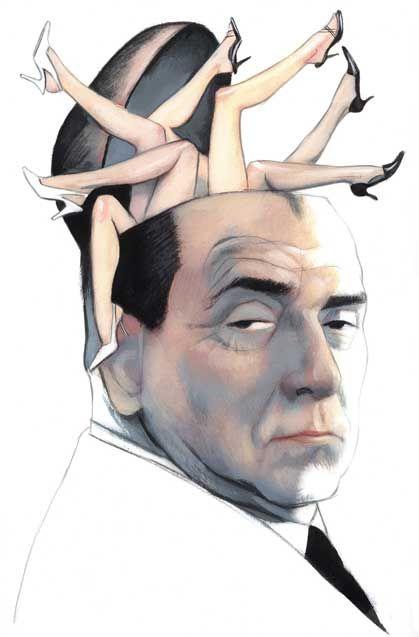 Silvio Berlusconi by Fernando Vicente