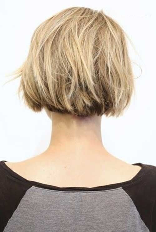Kurzer hinterkopf frisur