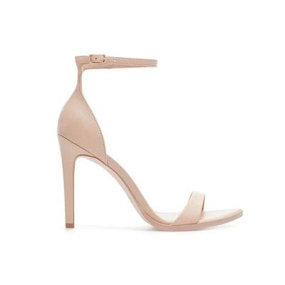 Details about ZARA NEW COLLECTION 2013 NUDE LEATHER STRAPPY HIGH ...