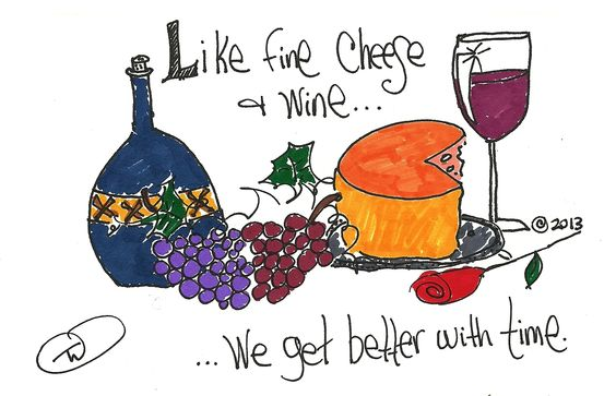 Like Fine Cheese and Wine (c) 2012 by Taliah Williams
