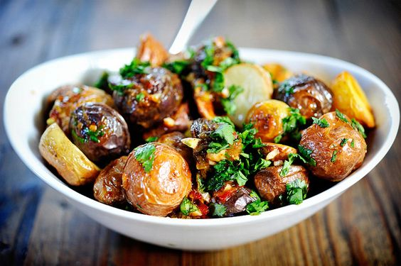 Chipotle & Lime Roasted Potatoes