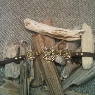 Ask me how to get your Sara Blaine Jewelry! Love the leather and metal!
