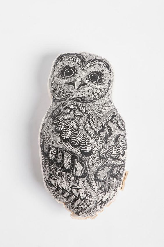 The Rise and Fall Baby Owl Pillow $29 Urban Outfitters (they also have a whale, sleeping fox, and French bulldog)