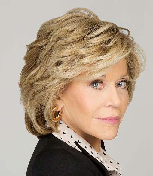 30 Brightest Jane Fonda Hairstyles 2019 Celebrity Hairstyles Jane Fonda Hairstyles Hairstyle Thick Hair Styles