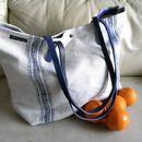 Canvastaschen - Leinentasche, Einkaufstasche, Strandtasche, Sport - ein Designerstück von motten-helle bei DaWanda