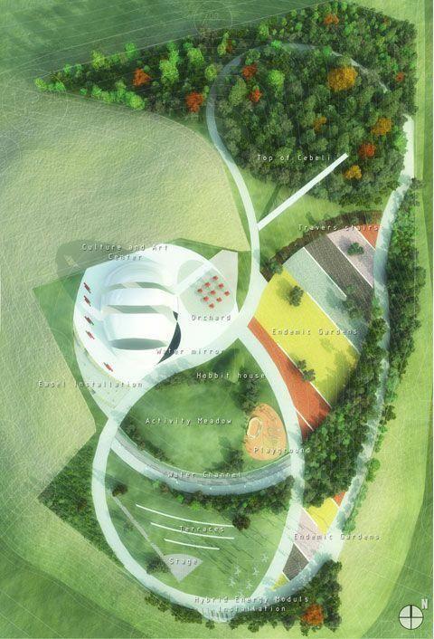 Landmark On Cebeli Hill Antalya Turkey Plan Green Landscapearchitecture Landscape Design Plans Urban Landscape Design Landscape Architecture Drawing