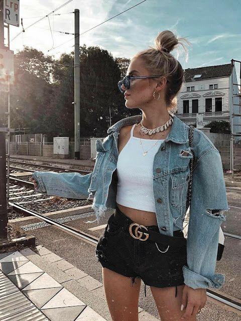 Suelen Santos ⋆ Estilo, Viagens e Estilo de Vida: Jaqueta Jeans: Looks e Dicas de como usá-la o ano inteiro
