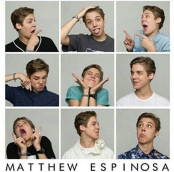 The Many Faces of Matthew Espinosa.