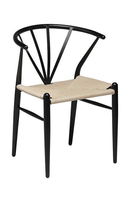 Köp 1995 kr! Delta stol Svart rotting. Stol i elegant