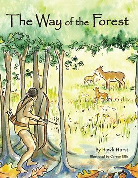 """Hawk Hurst, senior mentor and naturalist for over two decades at Green River Preserve, recently published a children's book titled """"The Way of the Forest."""" The inspiration for the book came from his early years at GRP. It is illustrated by Carson Ellis, former GRP summer camp staff member of four years."""