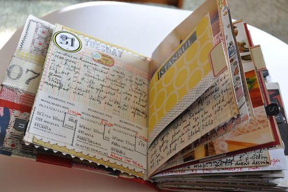 Cute Ein tolles Smashbook von Scrape Impulse Minialben Scrapbooking Pinterest Fotobuch Filofaxing und Urlaubserinnerungen