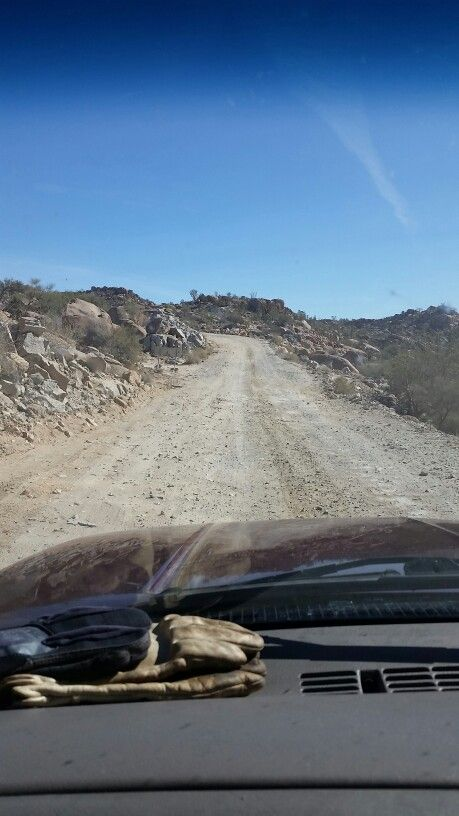 Baja old road.