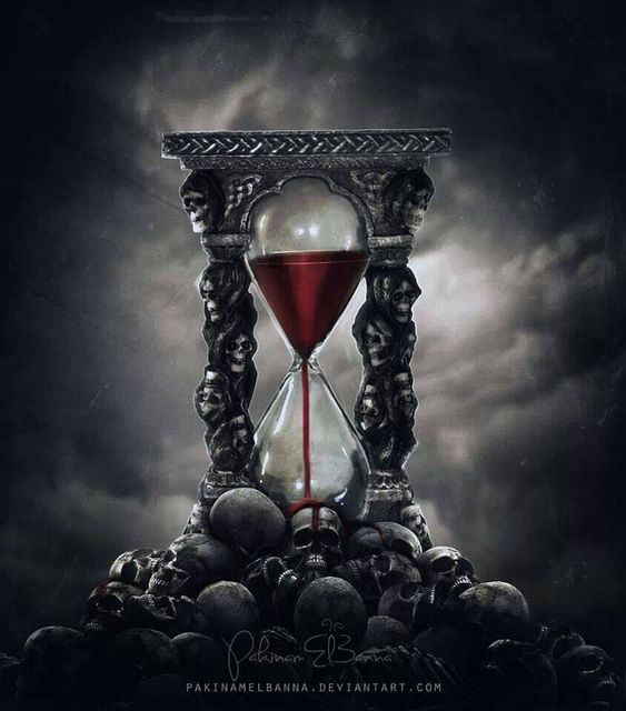 """Time/Life is Ticking. """"All we have to do is decide what to do with the time that is given to us."""" ~Gandalf, The Lord of the Rings."""