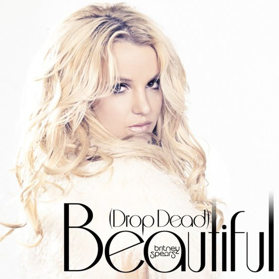 Britney Spears, Sabi – (Drop Dead) Beautiful (single cover art)