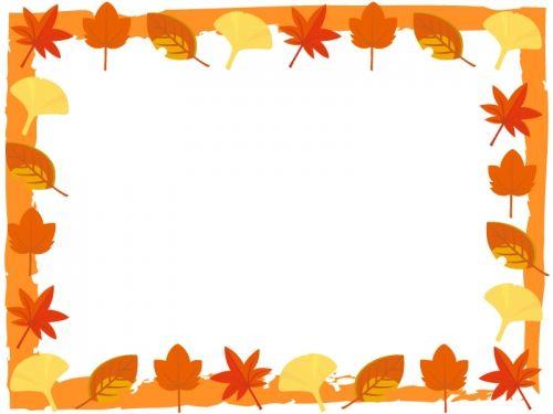 最高の壁紙 ほとんどのダウンロード 秋 フレーム イラスト
