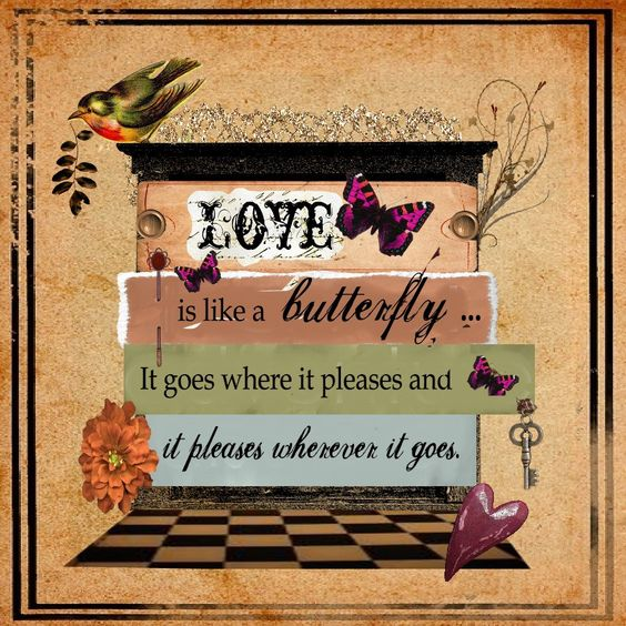 https://flic.kr/p/qXKdSd | LOVE | This week's challenge includes use of various fonts and elements in the style of Alisa Holland.  What fun! Credits to Oscraps and Scrapartist for various elements.:
